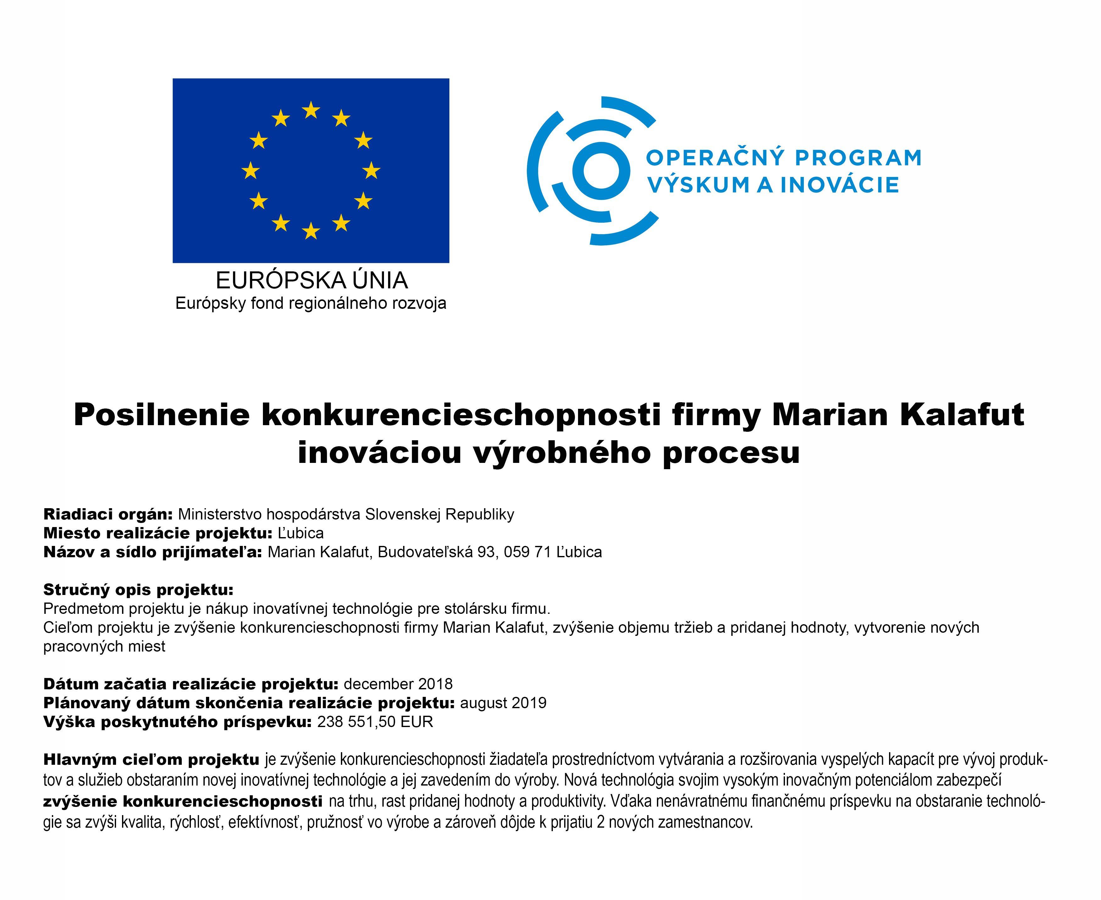 0ed08d6c3471 Projekt EÚ - Eurookná Kalafut